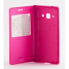 Чехол Samsung S-View Cover J100 Galaxy J1 розовый