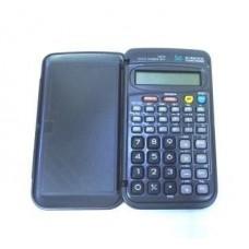 Калькулятор инжинерный 107А. 42 кнопки. черный. размеры 1287512мм. Box