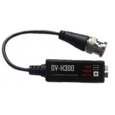 Пассивный приемопередатчик видеосигнала по витой паре DV-H300AHD