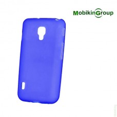 Original Silicon Case Lenovo A6000 Blue