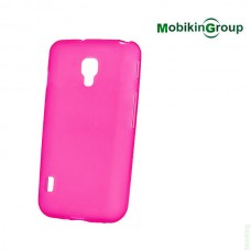 Original Silicon Case Lenovo A6000 Pink