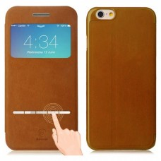 Baseus Leather Case Classic Series for iPhone 6S Brown