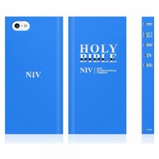 Araree Bookcover Bible for iPhone 5S/SE - Blue