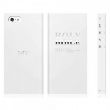 Araree Bookcover Bible for iPhone 5S/SE - White