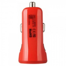 Baseus 2.1A Dual Usb Car Charger Sport Red CCALL-CR09