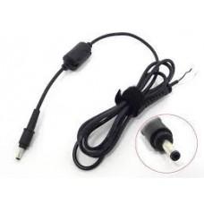 DC кабель от блока питания к ноутбуку Asus Ultrabook 3.01.35. 45W - 60W. Кабель с ферритовым фильтром и зас