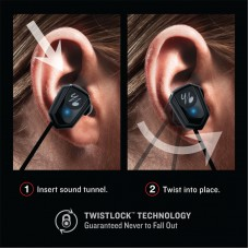 Bluetooth гарнитура Yurbuds Leap Wireless Black YBIMLEAP01BLK