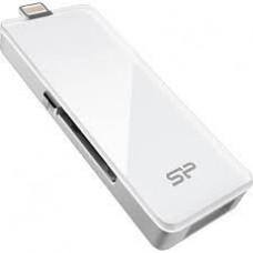 Накопитель Usb 3.0 SiliconPower xDrive Z30 Lightning for Apple devices 64Gb White