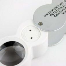 Лупа ювелирная карманная переносная magnifier 9888 Увеличительное стек