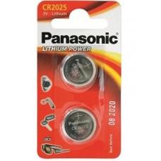 Panasonic CR2025 Lithium 2 шт/уп