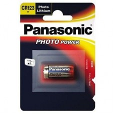 Батарейка Panasonic CR 123 Lithium 1шт./уп.