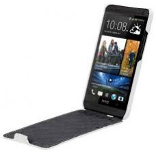 Чехол-флип Melkco Leather Case Jacka White for Htc One M7 O2O2M7LCJT1WELC