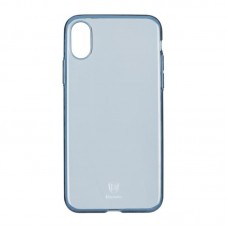 Baseus OR Simple Series Case For iPhone X Clean Tpu Transparent Blue B03