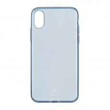 Baseus OR Simple Series Case For iPhone X With Pluggy Tpu Transparent Blue A03