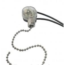 Выключатель с цепочкой для бра 20см, 3А, 220V