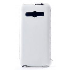 Флип-чехол Florence Samsung G355H Galaxy Core2 Duos white