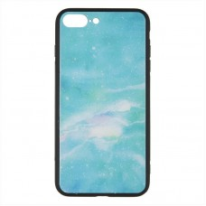 IPaky Print Series for iPhone 6 Plus Green Marmor RCD158
