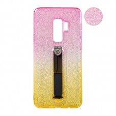 Remax Glitter Hold Series for Samsung G935 S7 Edge Yellow/Pink