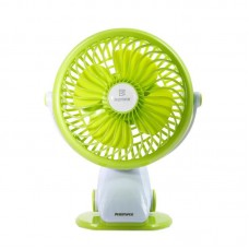 Вентилятор Remax Portable USB Mini Fan 360° (F2) Green