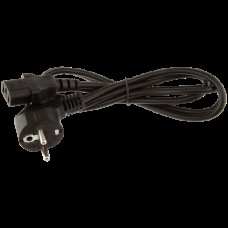 Сетевой кабель питания розетка 220в - компьютер 1.2 метра LP CEE 7/4