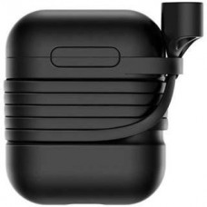 Чехол для наушников Baseus Silicone Case Black for AirPods (TZARGS-01)