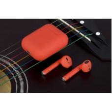 Bluetooth-гарнитура AirPods TWS i12 orange стерео наушники
