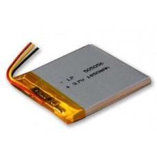 Аккумулятор, 122 мм, 78 мм, 2,7 мм, Li-ion, 3,7 В, 2600 мАч