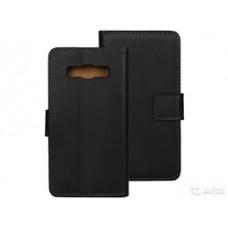 Чехол книжка для Samsung A3 черный
