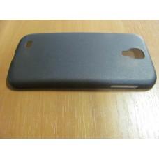 Чехол-накладка ультратонкая Samsung I9500 Galaxy S4 серая