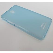 Чехол силиконовый 0.3mm Lenovo A5000 голубой, розовый