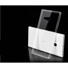 Чехол силиконовый 0.3mm Lenovo A328 black, белый