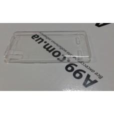 Накладка чехол силиконовая 0.3mm Lenovo K3 K30t / K30w прозрачная
