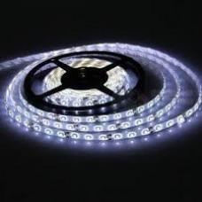 Лента светодиодная в силиконе 5050, 60 светодиодов 5 метров катушка White Hot