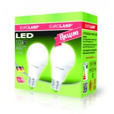 Набор ламп Led Eurolamp A60 10W E27 4000K акция 11