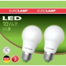 Набор ламп Led Eurolamp A60 10W E27 3000K акция 11