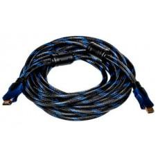 Видeo кабель PowerPlant HDMI - HDMI, 3m, позолоченные коннекторы, 1.4V, Nylon, Double ferrites