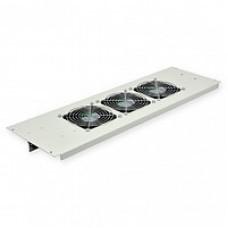3-х вентиляторний блок в кришу для шаф Mgse 610 шир. серый