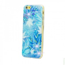 Diamond Silicone iPhone 6 Frozen Leaves