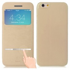 Baseus Leather Case Classic Series for iPhone 6S Beige