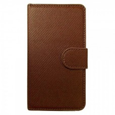 FT Leather Case Bi-Fold Brown for Samsung Galaxy S2