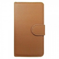 FT Leather Case Bi-Fold Coffe for Samsung Galaxy S2