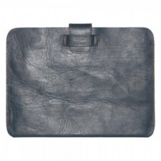 Kazee CarryEasy Genuine Leather Sleeve iPad 4/Tablet PC Navy KZ-FCiPD2