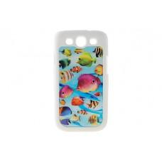 Чехол накладка 3D Drobak для Galaxy S iiI S3 Neo Duos Рыбки