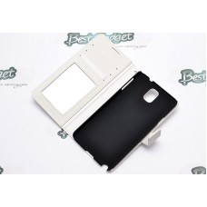 Обложка iCase Tec Book Strap для Samsung N9000 Galaxy Note 3 White