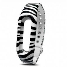 Браслет Silicon Mi Band Zebra (B4)