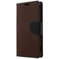 Чехол-книжка Toto Book Cover Mercury Meizu M2 Mini Brown