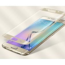 Бронированное стекло Utty 3D для Samsung S7 Edge золотистое