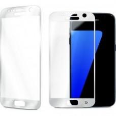 Бронированное стекло Utty 3D для Samsung S7 серебристое
