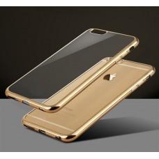 Накладка силиконовая на корпус Meizu M2 mini gold