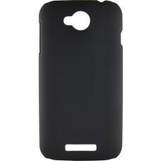 Накладка на заднюю крышку Lenovo A706 черная пластиковая